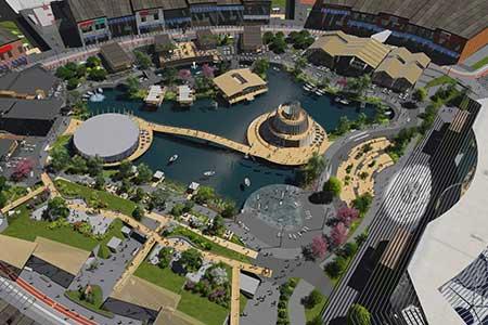 В Мега-Адыгея появится лагуна и мини-парк