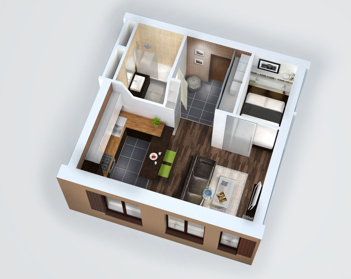 Особенности приобретения однокомнатной квартиры
