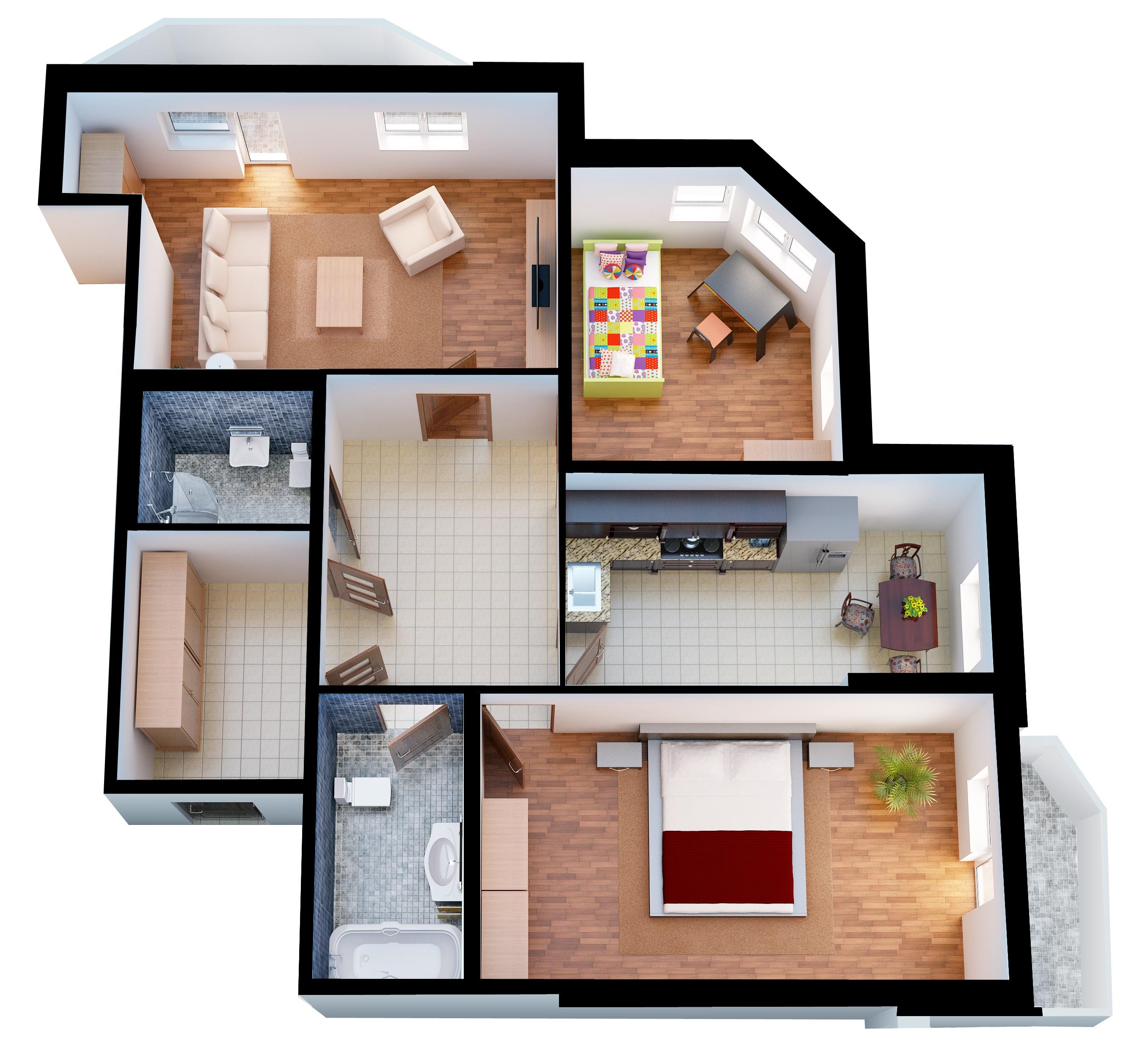 Преимущества трехкомнатных квартир от ССК