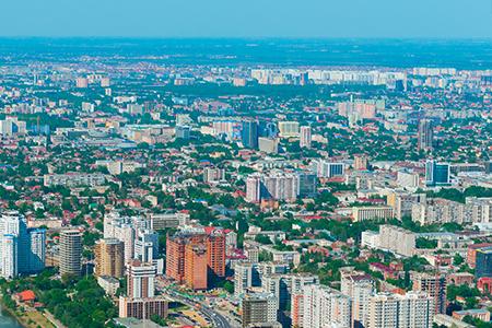 Краснодарский край в числе лидеров по вводу жилья в России