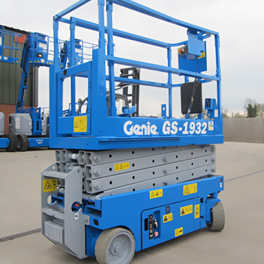 19ft Self-Propelled Scissor Lift