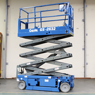26ft Self-Propelled Scissor Lift