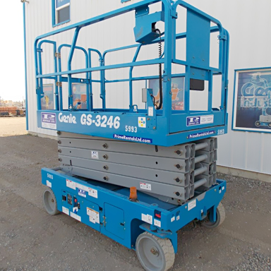 32ft Self-Propelled Scissor Lift