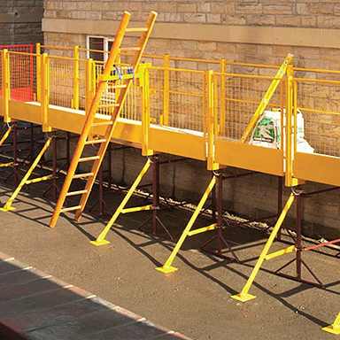 Builders Trestle  Handrail System