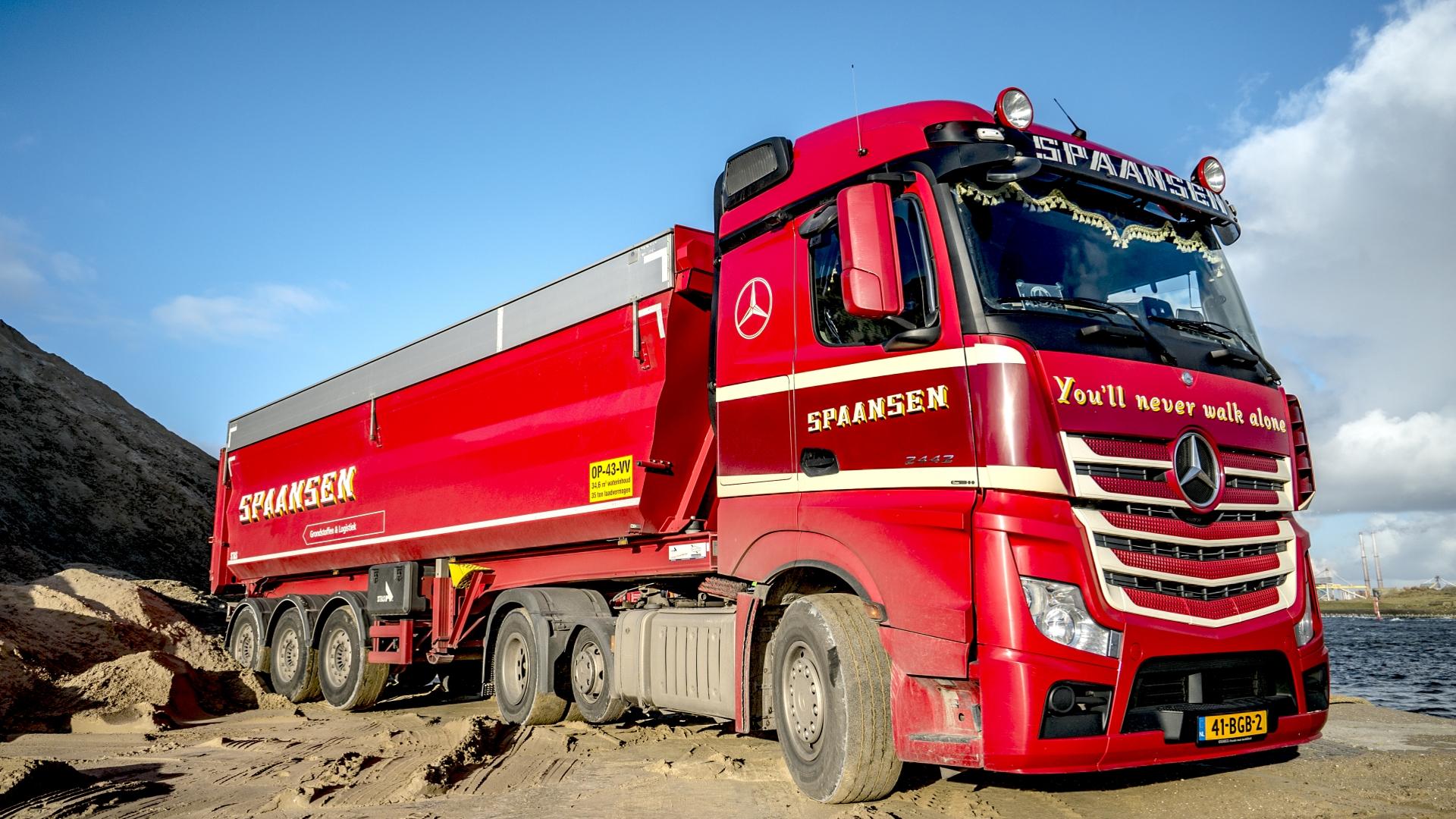 Vacature, Chauffeur, Transport, Winkel, Amsterdam, Kiptrailer, Spaansen Grondstoffen en Logistiek