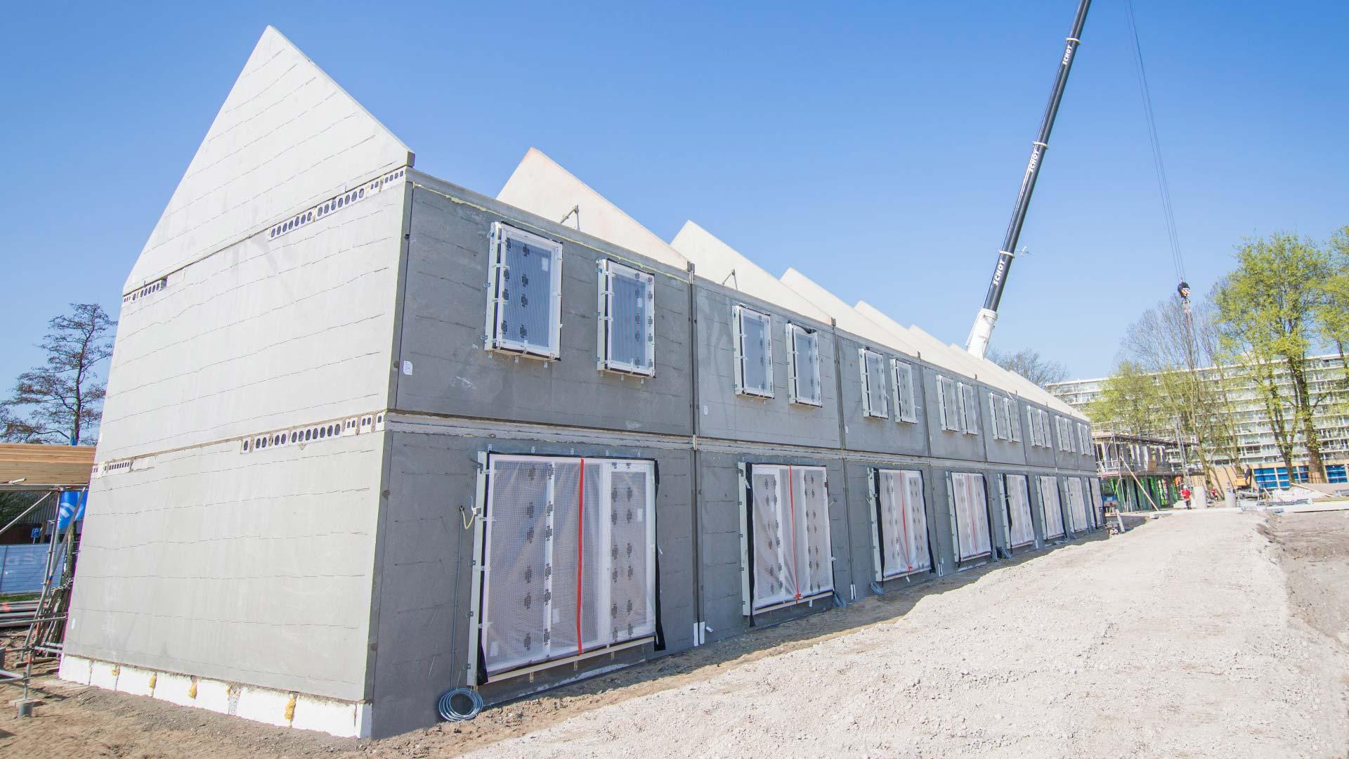 ILS constructie betonwanden