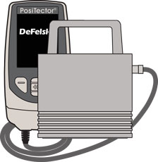 PosiTector 6000 FNGS1 Probe illustration