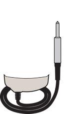 PosiTector 6000 PRBF0S Probe illustration
