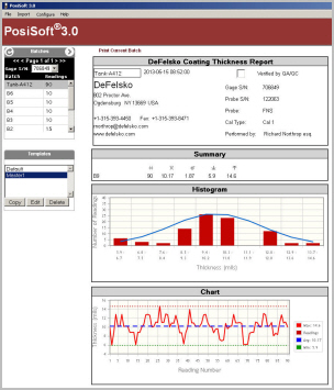 screenshot of PosiSoft 3.0 legacy software