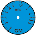 illustration of PosiTest GM scale