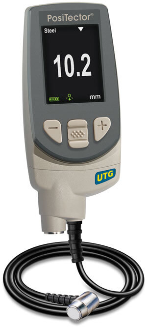PosiTector UTG M with advanced gage body