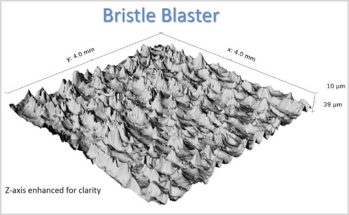 Image of 3D rendering example using Bristle Blaster