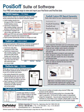 PosiSoft Suite of Software literature thumb