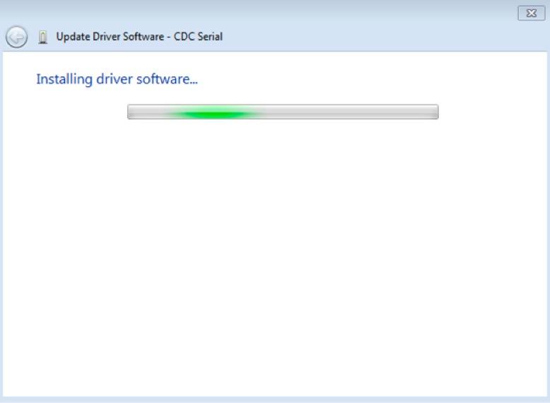 Screenshot of installation dialogue box