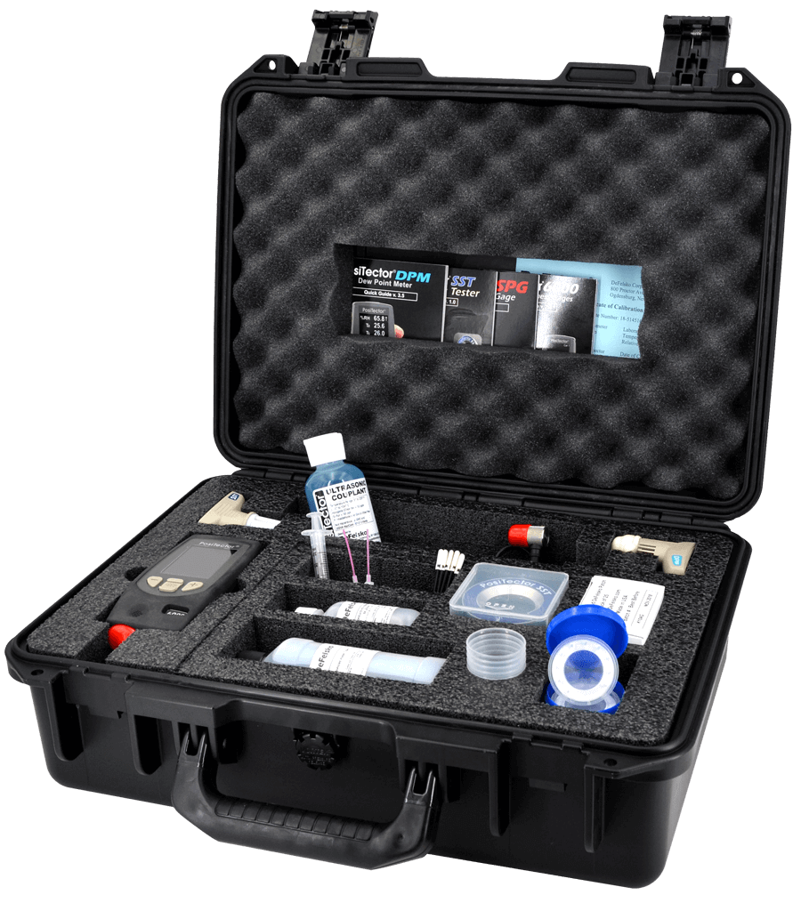 Image of large Pelican Case, open with contents inside