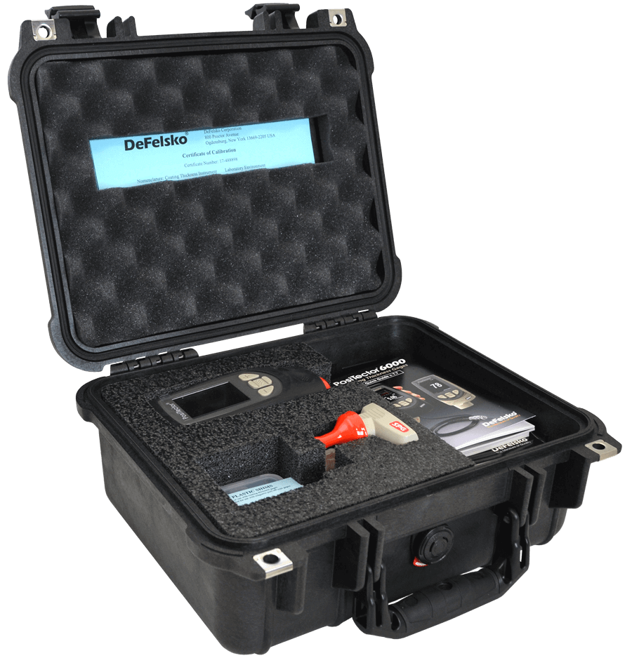 Image of small Pelican Case, open with contents inside