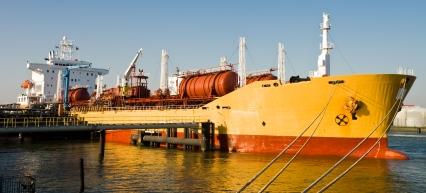 Image of an oil tanker