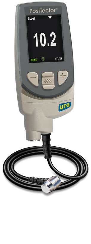 PosiTector UTG M with standard gage body
