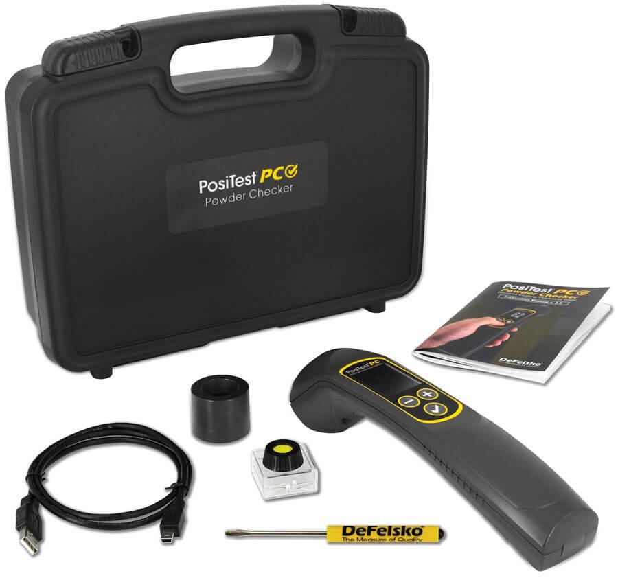 PosiTector PC带先进的量具体