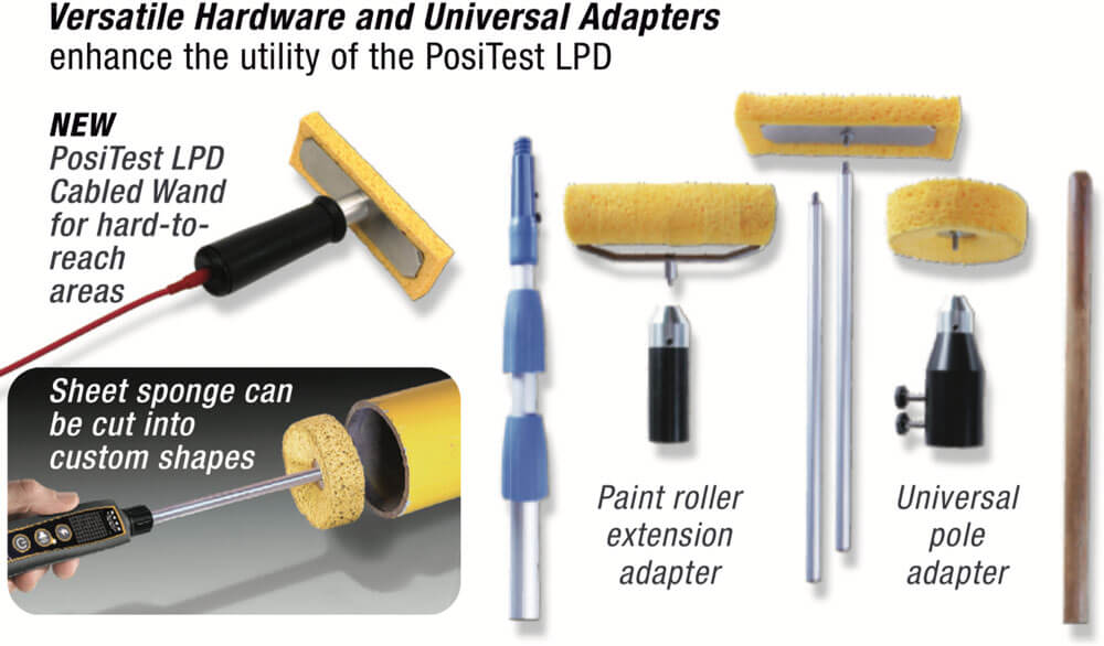 Versatile Sponge Hardware and Universal Adapters