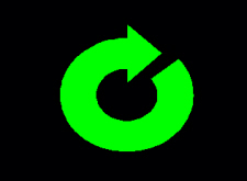 Screenshot from PosiTest ATA of the green Reset icon