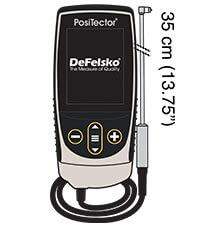 PosiTector 6000 F90S1 Probe illustration