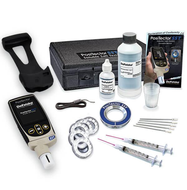 PosiTector SST PosiPatch standard gage kit