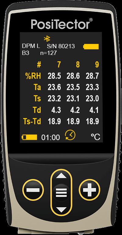 标准正片测量体与正片DPML屏幕的图像
