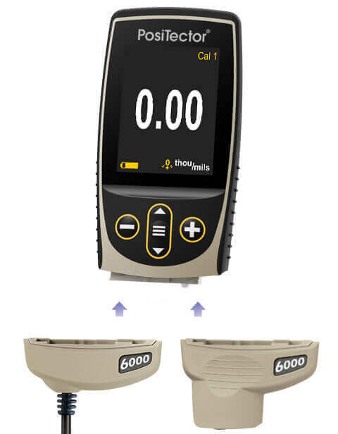 a wide selection of interchangeable 6000 probes available