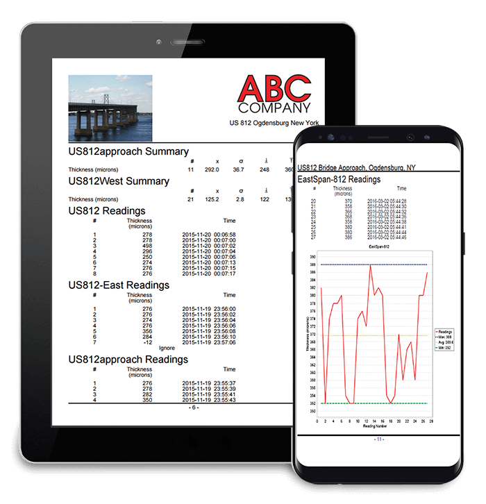 Generate custom PDF reports