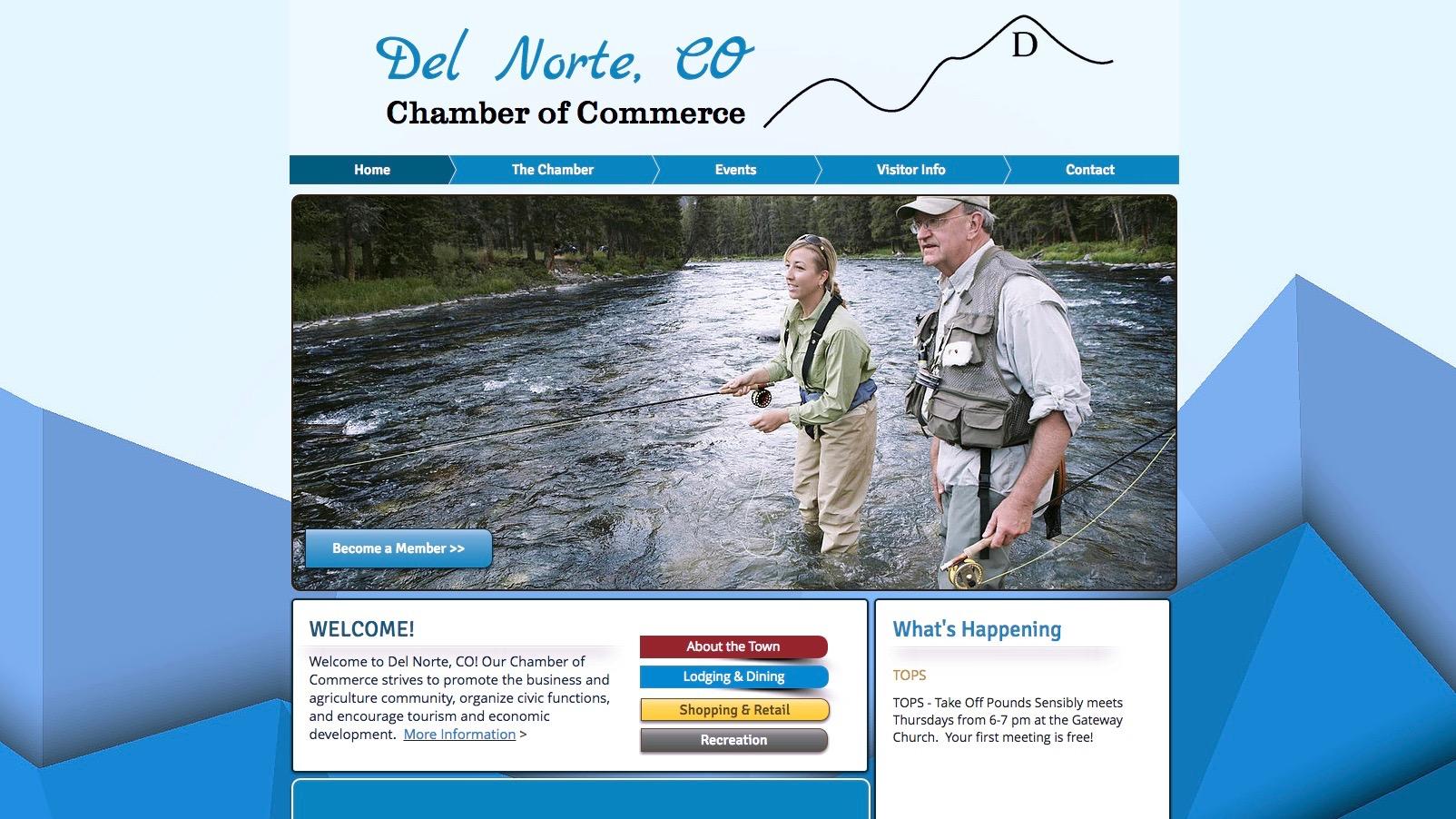 Del Norte website