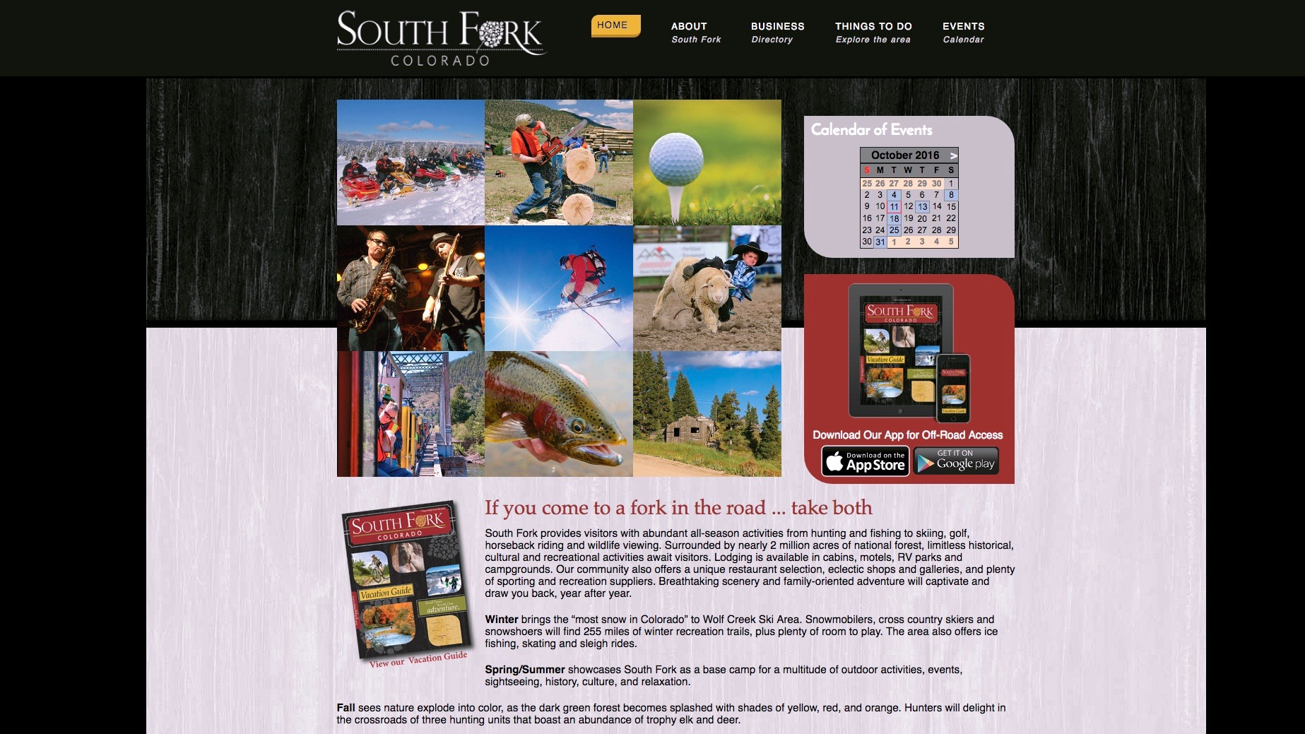 City of South Fork website