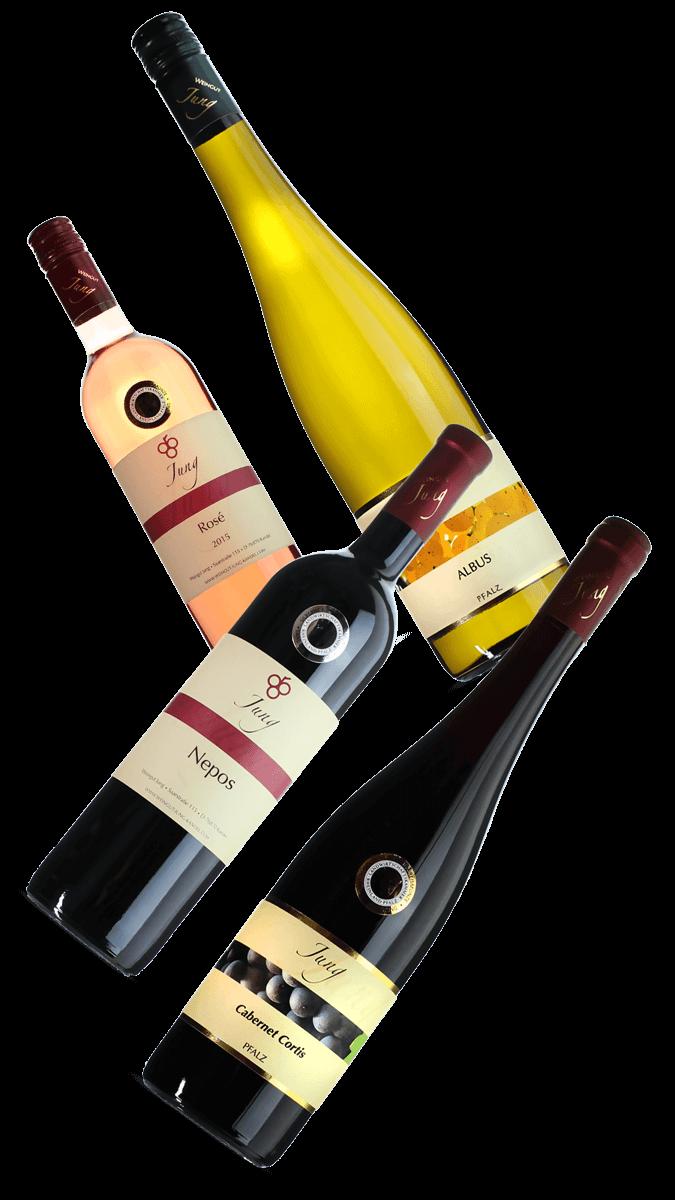 Weinpaket für das virtuelle Grillen (4 Flaschen)