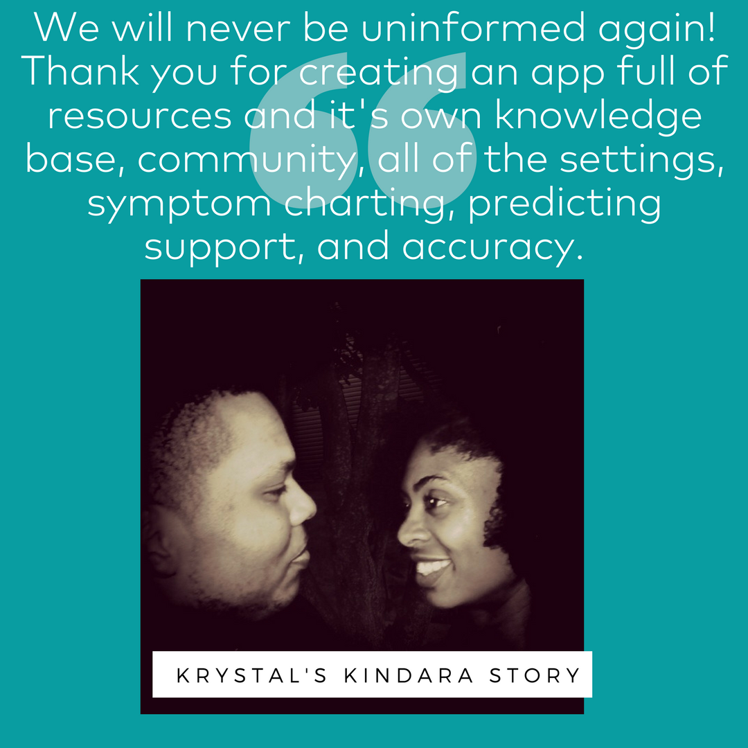 Krystal W: Learning about Fertility Awareness with the help of