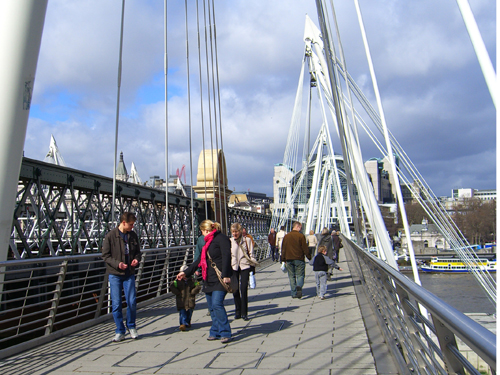 Millennium and Jubliee Pedestrian Bridges