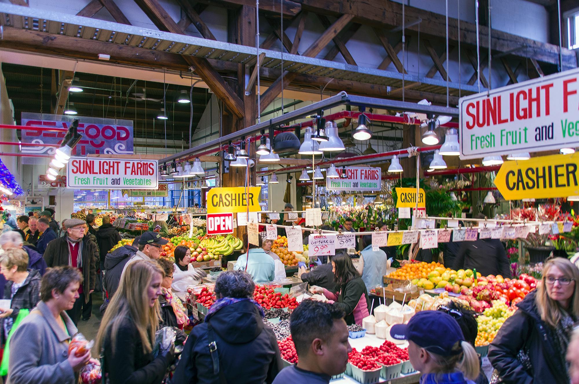 Image result for granville island market