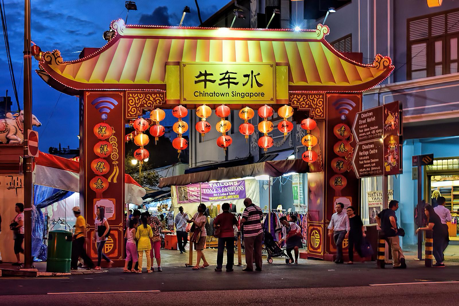 Chinatown Street Market Public Markets