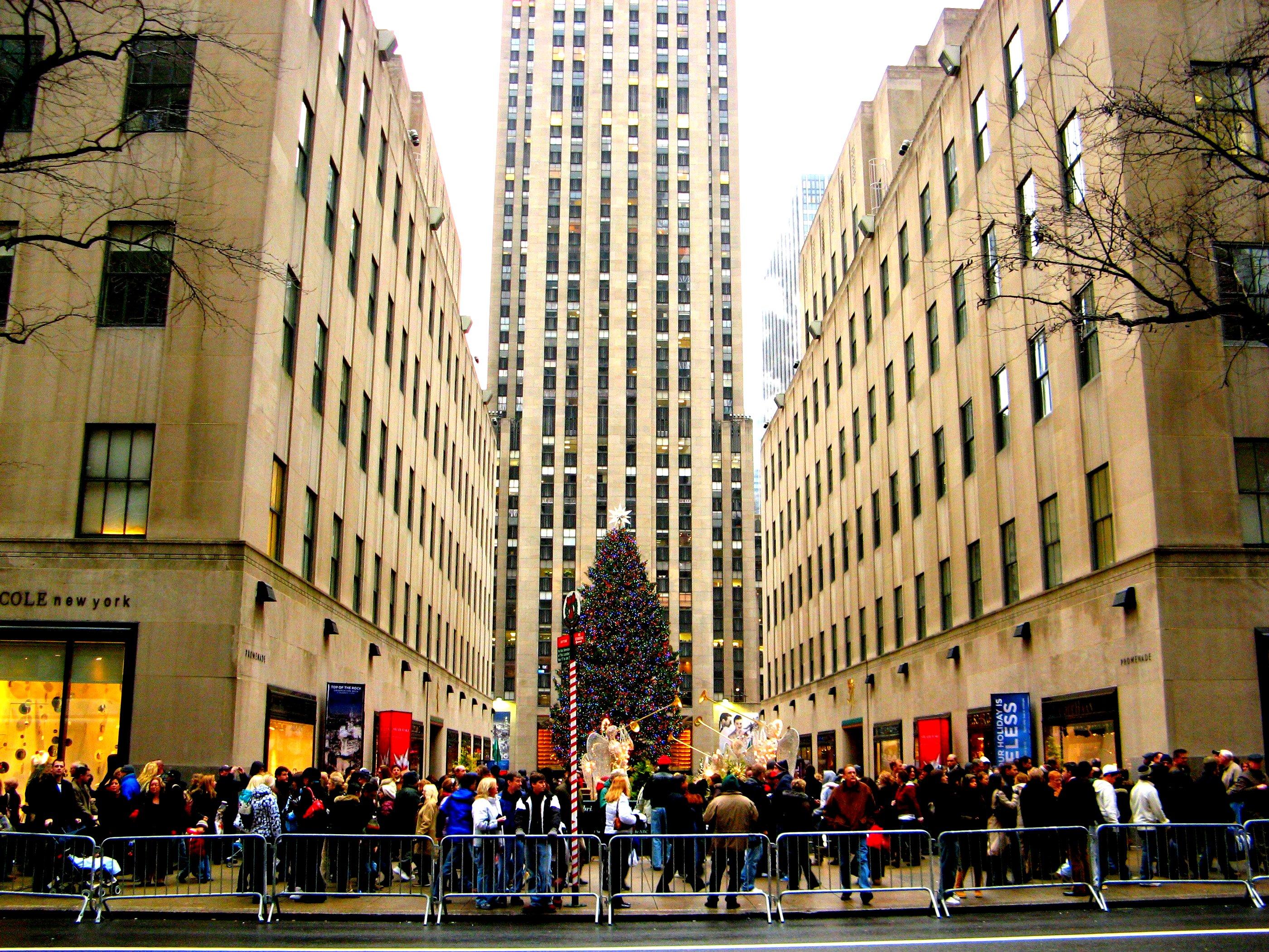 Where is the Rockefeller Center 25