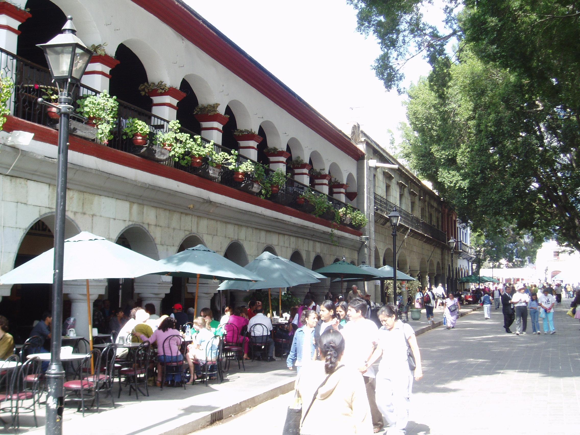 Plaza de la Constitución de Oaxaca (Zócalo)