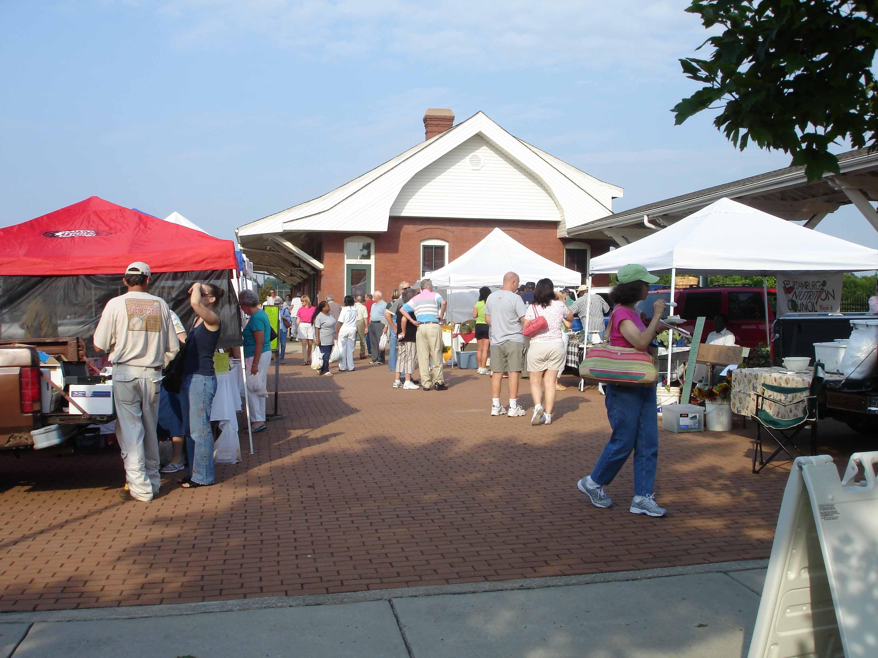 Hub City Farmer's Market