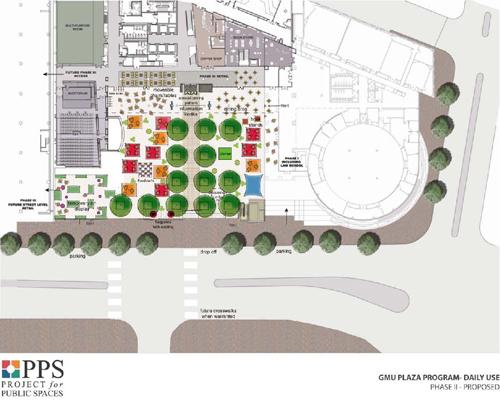 George Mason University Campus Plaza | Projects