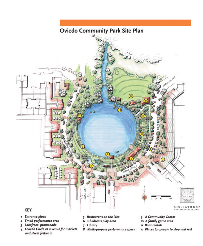 Oviedo Downtown Master Plan and New Community Park