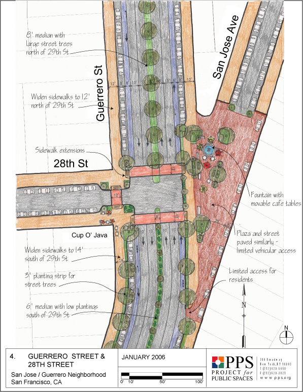 Creating Streets for People in the San Jose/Guerrero Neighborhood