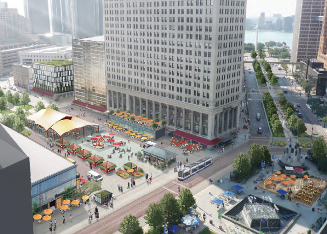 PPS Involvement in the Place-Led Regeneration of Detroit