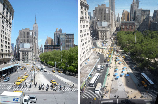 New York City Streets Renaissance