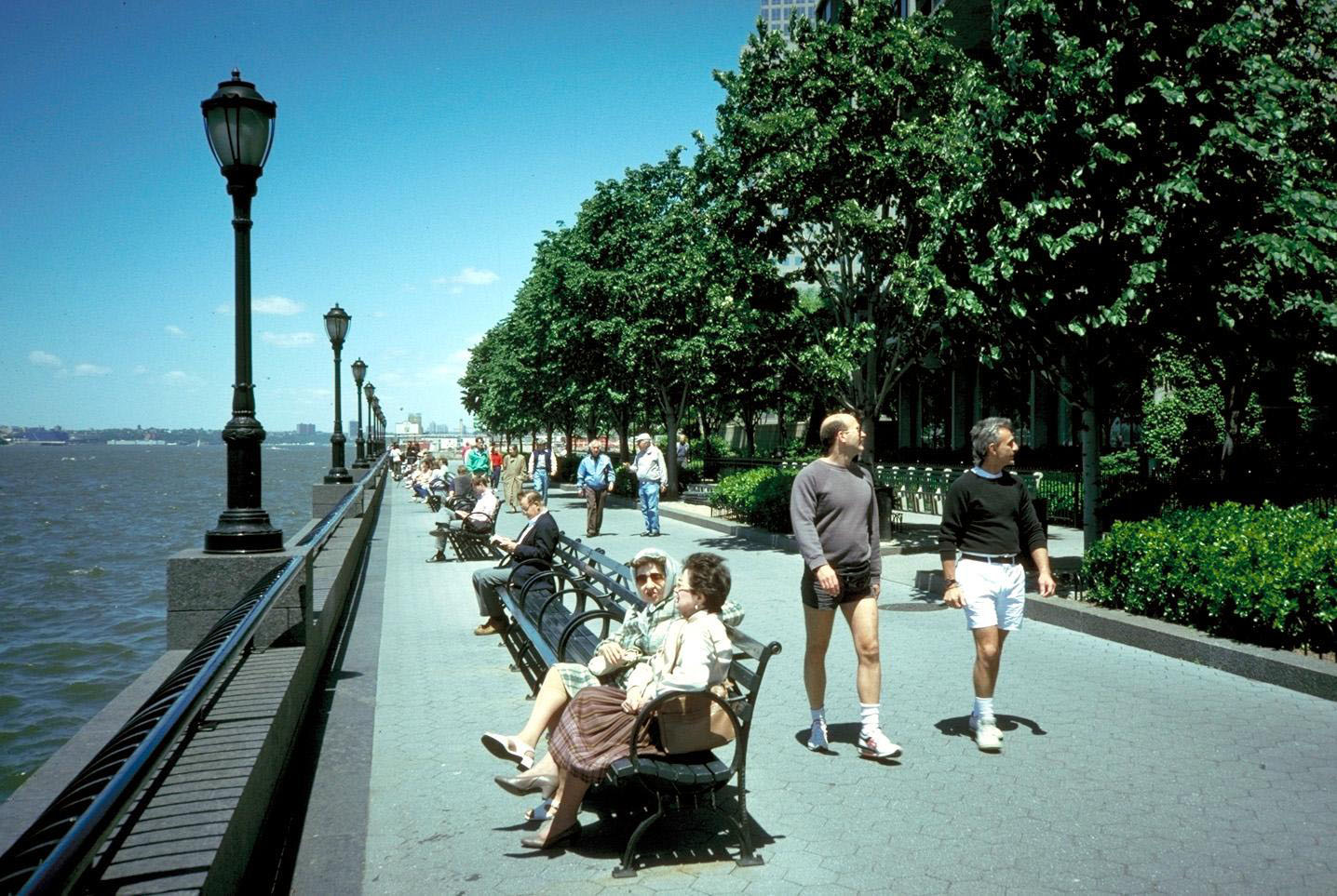 Battery Park City Parks