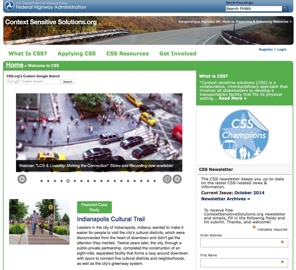 Context Sensitive Solutions Website