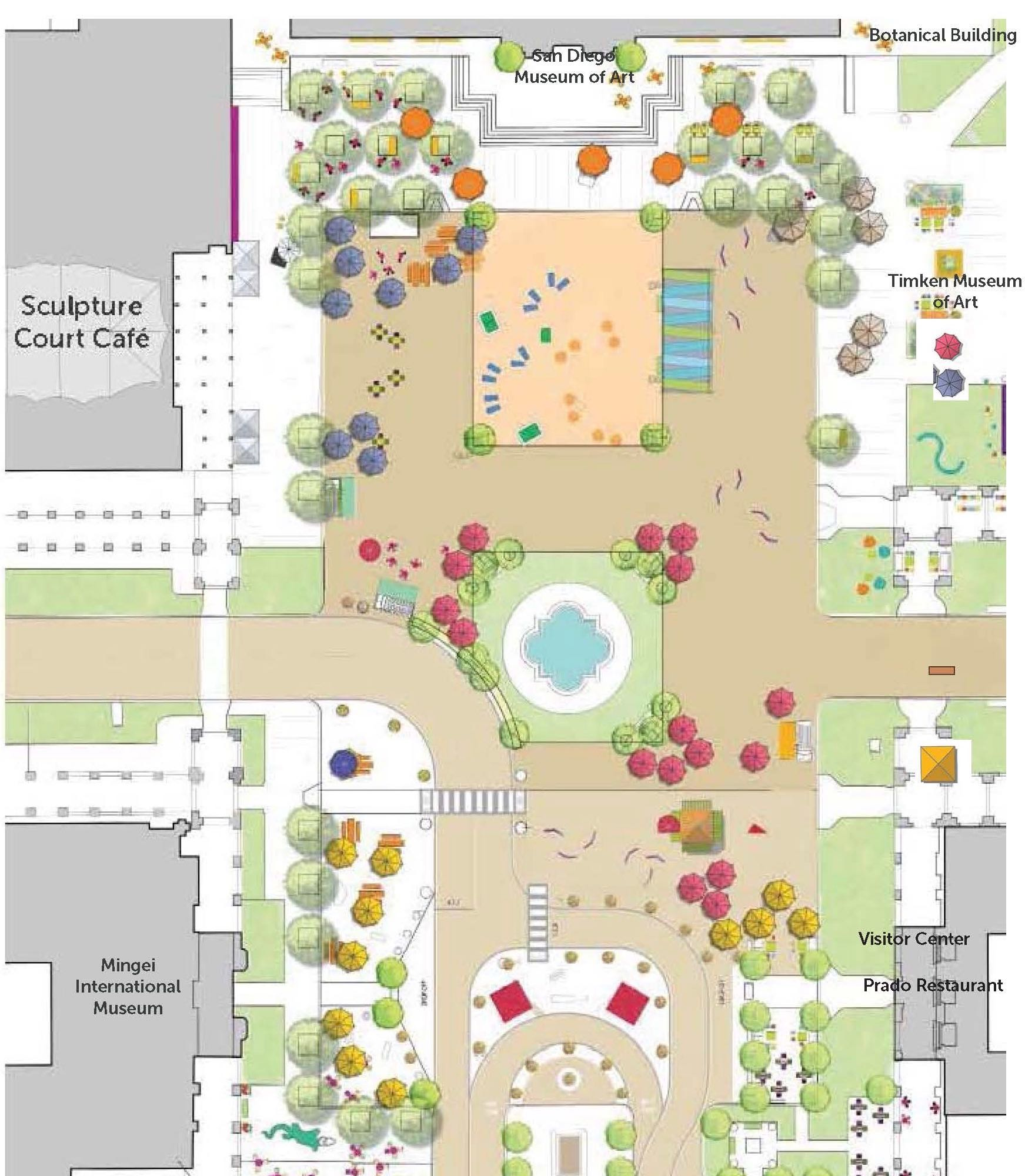 Plaza de Panama, Balboa Park