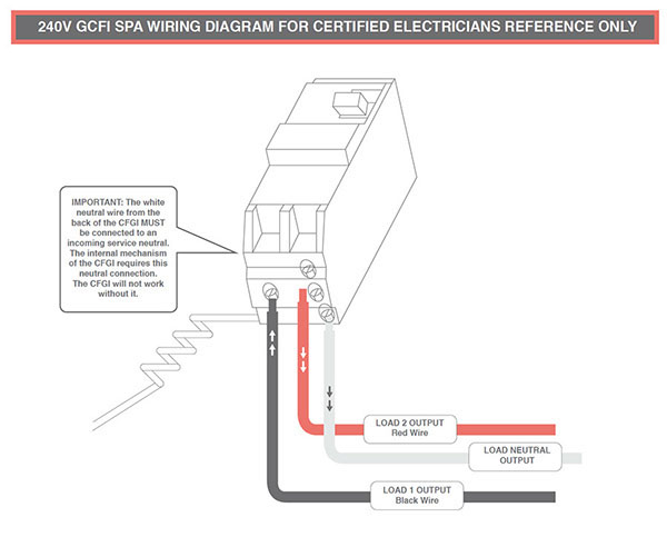 owners manualimproper wiring can cause damages to the spas electronics, which is not covered in the warranty
