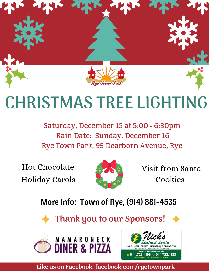 News: Rye Town Park Christmas Tree Lighting